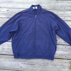 Tail Navy Blue Windbreaker jacket fully lined